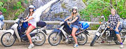 Group of Easy Rider Guests on Motorbike Tour