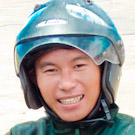 Vietnam Easy Rider Mr. Duc on Motorbike